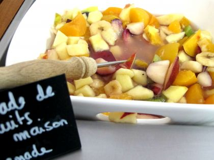 salade de fruits maison - Homemade
